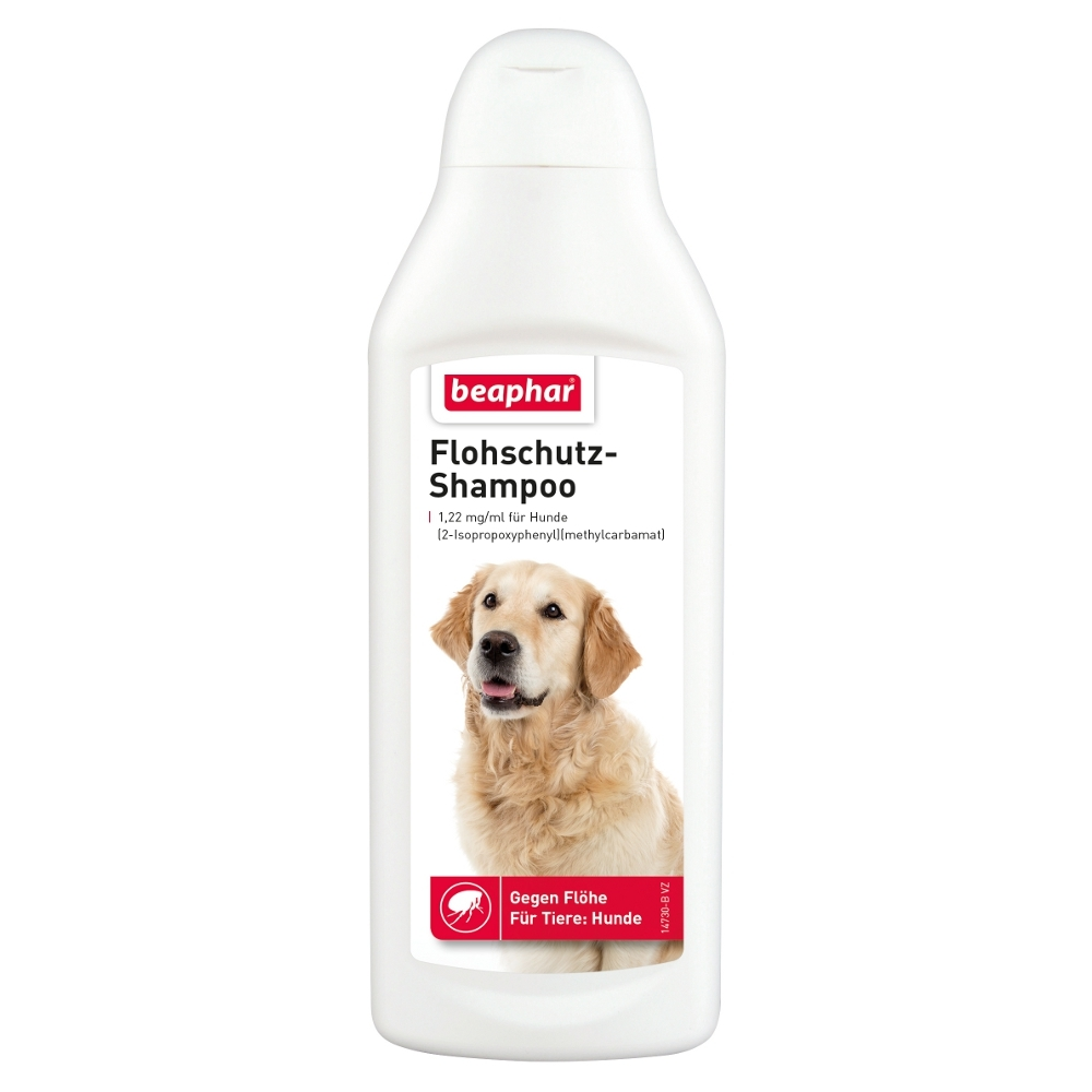 beaphar flohshampoo flohschutz shampoo f r hunde 250 ml. Black Bedroom Furniture Sets. Home Design Ideas