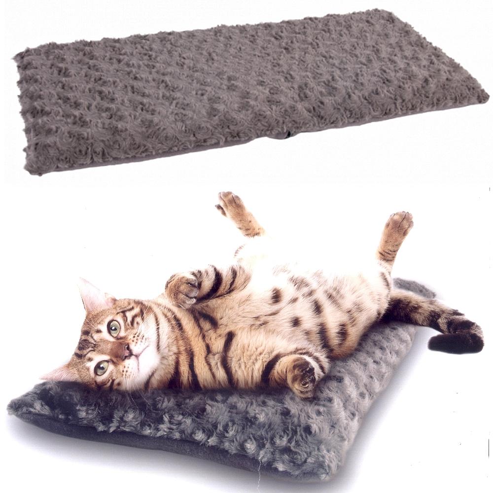 katzendecke f r fensterbrett cuddly 60 x 26 cm grau. Black Bedroom Furniture Sets. Home Design Ideas