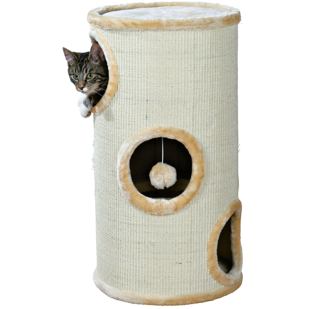 katzenturm kratztonne cat tower sisal h he 70 cm 37. Black Bedroom Furniture Sets. Home Design Ideas