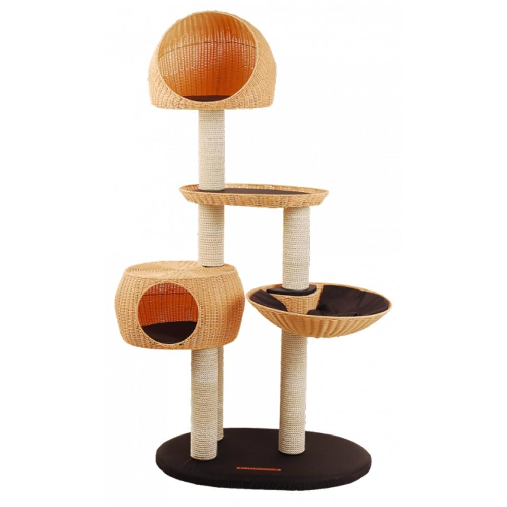 kratzbaum outdoor iii wetterfest f r garten balkon oder. Black Bedroom Furniture Sets. Home Design Ideas