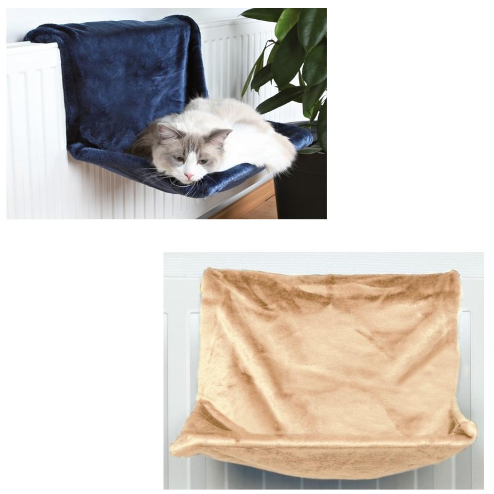 liegemulde heizungsliege f r katzen pl sch beige oder dun. Black Bedroom Furniture Sets. Home Design Ideas