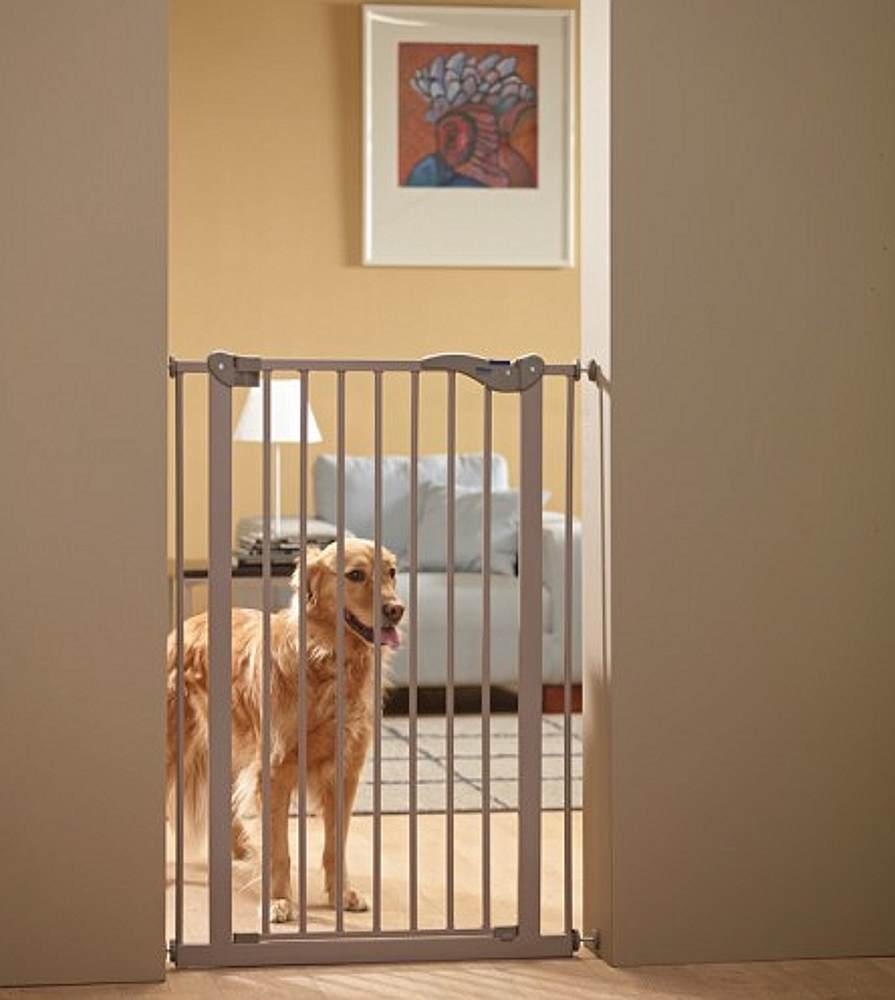 Schutzgitter absperrgitter dog barrier h he 107 cm - Obi porte da interno ...