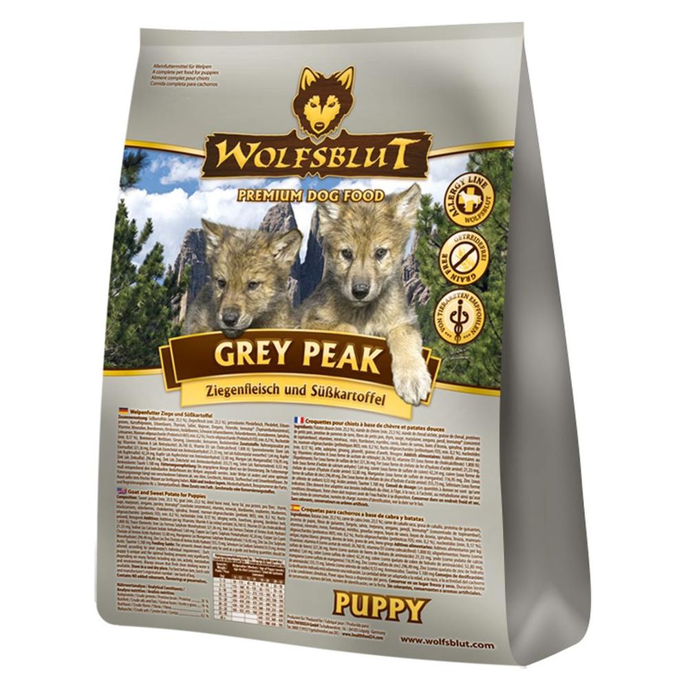 wolfsblut puppy grey peak mit ziege und s kartoffeln 2 kg. Black Bedroom Furniture Sets. Home Design Ideas
