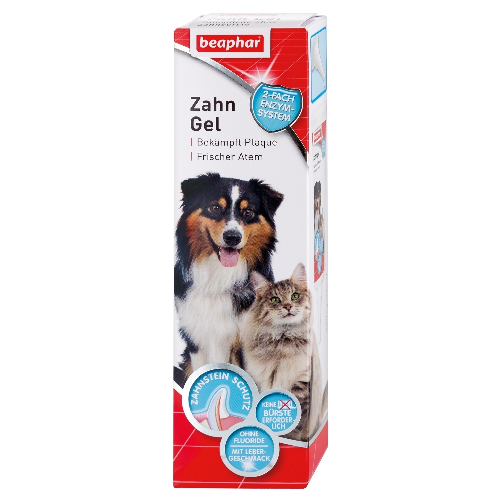 beaphar zahngel zahnpflege ohne zahnb rste f r hunde und. Black Bedroom Furniture Sets. Home Design Ideas