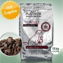 Platinum Natural Food Adult Lamm + Reis, 15 kg