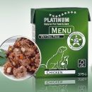 Platinum Natural Food Nassfutter MENU Chicken (Huhn)