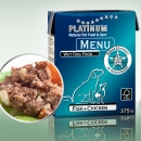 Platinum Natural Food Nassfutter MENU Fish + Chicken (Fisch + Huhn)