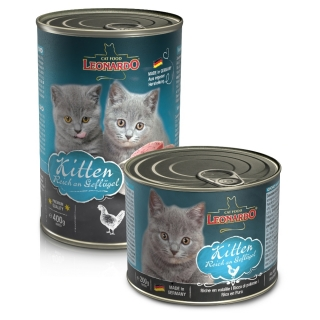 Leonardo Nassfutter Quality Selection KITTEN, Dose 200/400 g