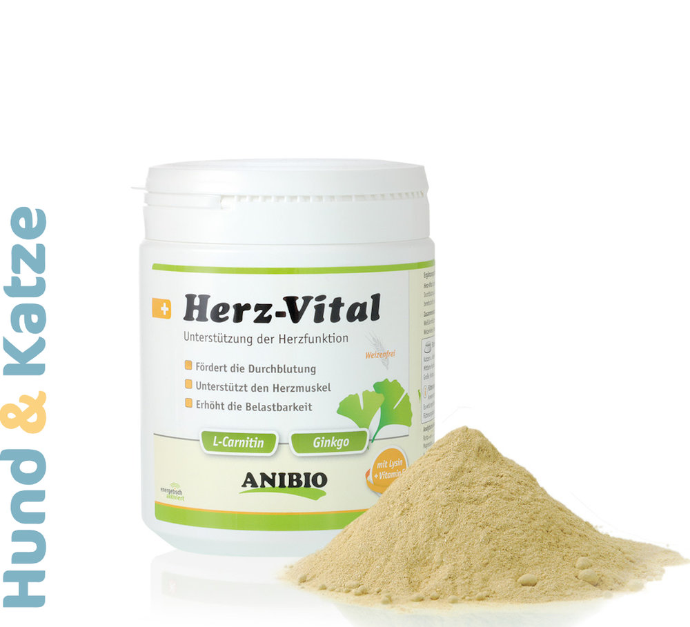 Anibio Herz-Vital, Nahrungsergänzung zur Unterstützung der